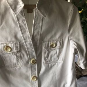 Micheal kors button front s/ s jacket size 12